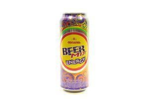 Пиво специальное 0.5л 2.5% BeerMix Energy ж/б
