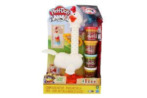 Набір іграшковий для дітей від 3років №28 Cluck-A-Dee Animal crew Play-Doh Hasbro 1шт