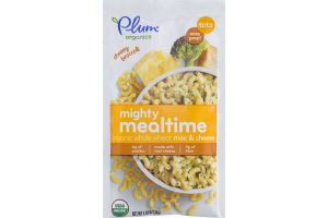 Plum Organics Mighty Mealtime Organic Whole Wheat Mac & Cheese Cheesy Broccoli