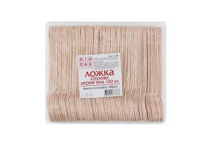 Ложка столовая деревянная №11160 Linpac 100шт
