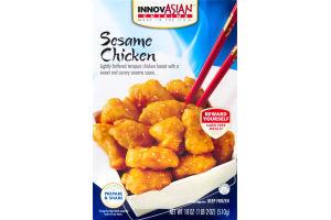 InnovAsian Cuisine Sesame Chicken