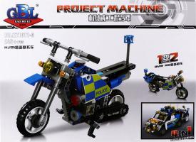 Конструктор Мотоцикл 246дет D`1
