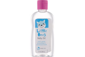 Little Ones Baby Oil