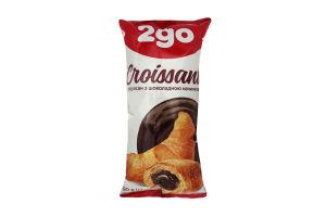 Круассан с шоколадной начинкой 2go м/у 60г
