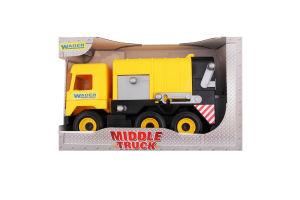 Игрушка для детей от 3лет №39492 Garbage truck Middle truck Wader 1шт