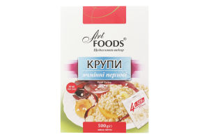 Крупа ячменная перловая Art Foods к/у 500г