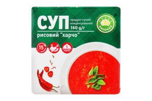 Суп рисовий сухий концентрований Харчо Ласочка м/у 160г