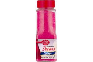 Betty Crocker Decorating Decors Pink Sugar