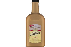 DaVinci Gourmet Classic White Chocolate Flavored Sauce
