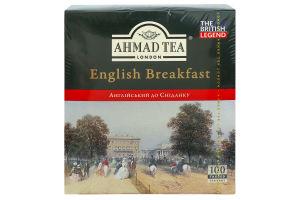 Чай чорний English Breakfast Ahmad Tea к/у 100х2г
