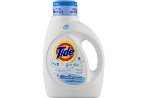 Tide Free & Gentle Detergent - 32 Loads
