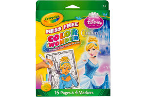 Crayola Disney Princess Cinderella Color Wonder Mess Free