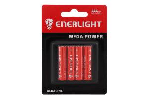 Батарейка AAA 1.5V LR03 Mega Power Enerlight 4шт