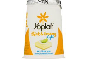 Yoplait Light Thick & Creamy Fat Free Yogurt Key Lime Pie