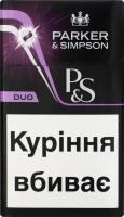 Сигарети з фільтром Parker&Simpson Duo 20шт