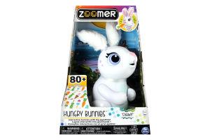 Игрушка для детей от 3 лет интерактивный Кролик Хрумчик Zoomer Spin Master 1шт