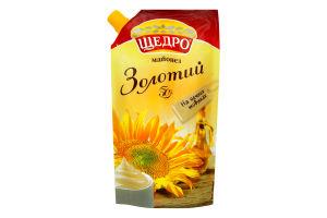 "Майонез Щедро ""Золотий"" 50% д/п 0,35 ЛЖК"