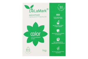 Порошок стиральный концентрированный бесфосфатный Color Eco DeLaMark 1кг
