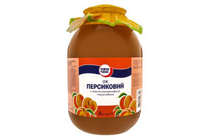 Сок персиковый Повна Чаша с/б 3л