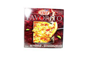 Пицца Вичунай ветчина-шампиньоны с/м 415г