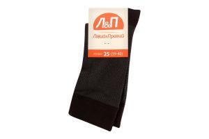 Шкарпетки чоловічі Лівий&Правий 25 коричневий