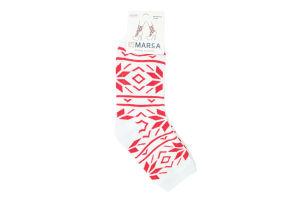 Шкарпетки жіночі Marca Махра №42702 23-25 білий