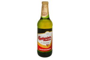 Пиво 0.5л 5% светлое Budwеiser Budvar B:Original бут