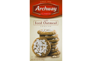 Archway Classics Soft Iced Oatmeal Cookies