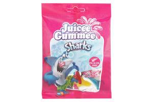 Цукерки Juicee Gummee Акули 80г х20