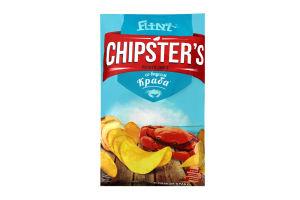 Чипсы картофельные со вкусом краба Chipster's м/у 70г