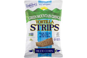 Green Mountain Gringo Tortilla Strips Blue Corn