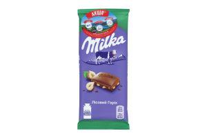 Шоколад с лесным орехом Milka 90г
