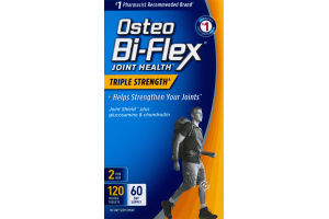 Osteo Bi-Flex Joint Health Triple Strength Dietary Supplement - 120 CT