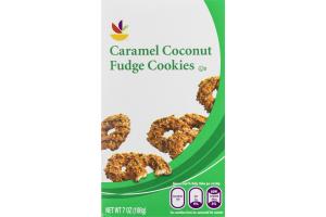 Ahold Caramel Coconut Fudge Cookies