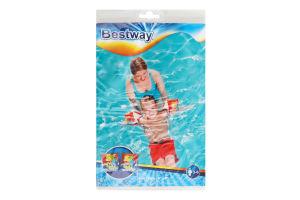 Нарукавники для плавания Черепашки Bestway 23х15см