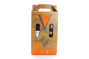 Вино Villa Krim Muscat Marbel 2011 0.75л + келих (короб)