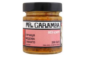 Гірчиця медова з манго Mr.Caramba с/б 200г
