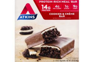 Atkins Cookies n' Creme Bar - 5 CT