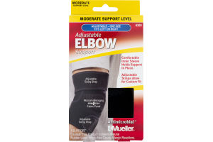 Mueller Elbow Support Adjustable Moderate Support Level - 1 CT