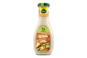 Соус салатний з сиром і часником Цезар Kuhne с/пл 250мл