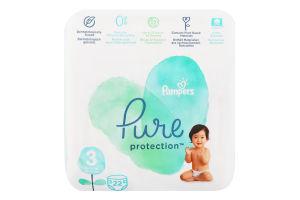 Подгузники детские 6-10кг Pure protection Pampers 22шт