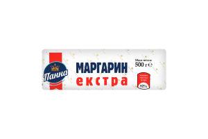 Маргарин 82% столовий Екстра Панна м/у 500г
