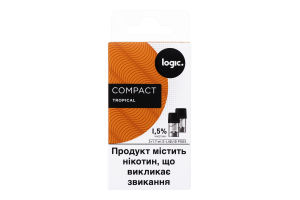 Картридж 1.5% Tropical Compact Logic 2шт