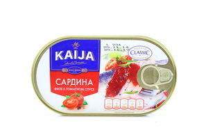 Сардина в томатном соусе Kaija 170г