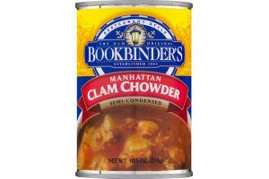 Bookbinder's Manhattan Clam Chowder