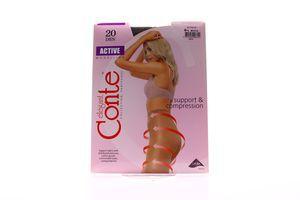 Колготы женские Conte Active Modelling 20den 4-L mocca