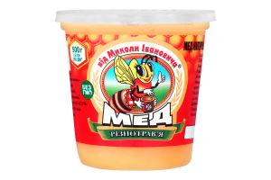 Мёд натуральный цветочный Разнотравье від Миколи Івановича ст 500г
