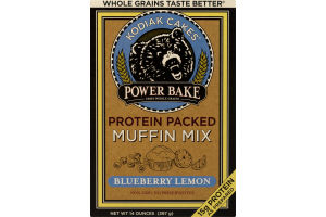 Kodiak Cakes Power Bake Protein Packed Muffin Mix Blueberry Lemon