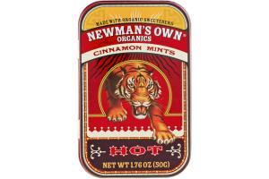 Newman's Own Organics Cinnamon Mints Hot