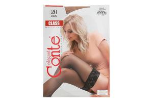 Панчохи жіночі Conte Class №8С-90СП 20den 1/2 natural
